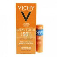 Vichy Ideal Soleil Spf50 Crème Onctueuse Visage Fl/30ml Pocket à MULHOUSE
