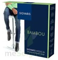 Sigvaris Bambou 2 Chaussette homme galet N large à MULHOUSE