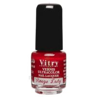 Vitry Vernis à Ongles Rouge Lady Mini Fl/4ml à MULHOUSE