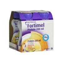 Fortimel Protein Sensation Chaude Nutriment Tropical Gingembre 4 Bouteilles/200ml à MULHOUSE
