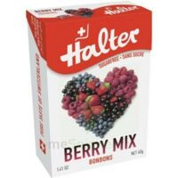 Halter sans sucre Bonbon fruits rouges 40g à MULHOUSE