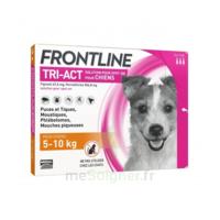 Frontline Tri-act Solution Pour Spot-on Chien 5-10kg 3pipettes/1ml à MULHOUSE