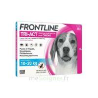 Frontline Tri-act Solution Pour Spot-on Chien 10-20kg 3pipettes/2ml à MULHOUSE