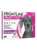Frontline Tri-act Solution Pour Spot-on Chien 20-40kg 3pipettes/4ml à MULHOUSE