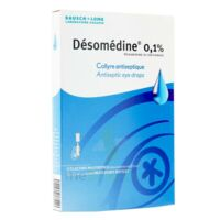 DESOMEDINE 0,1 % Collyre sol 10Fl/0,6ml à MULHOUSE