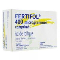 Fertifol 400 µg Cpr Plq/90 à MULHOUSE