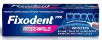 Fixodent Pro Crème Adhésive Pour Prothèse Partielle T/40g à MULHOUSE