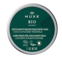 Nuxe Bio Déodorant Baume Fraîcheur 24h Toutes Peaux Pot/50g à MULHOUSE