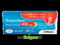 IBUPROFENE MYLAN CONSEIL 400MG, comprimés pelliculés à MULHOUSE