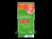 Chlorhexidine/chlorobutanol Mylan 0,5 Ml/0,5 G Pour 100 Ml, Solution Pour Bain De Bouche En Flacon à MULHOUSE