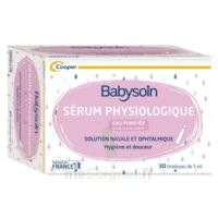 Babysoin Solution Sérum Physiologique 30 Unidoses/5ml à MULHOUSE
