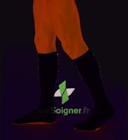 Dynaven Fin Chaussettes  Homme Classe 2 Noir Small Long à MULHOUSE