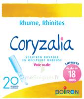 Boiron Coryzalia Solution Buvable Unidose B/20 à MULHOUSE