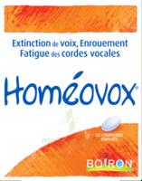 Boiron Homéovox Comprimés à MULHOUSE