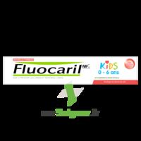 Fluocaril Kids Dentifrice Fraise 0-6 Ans T/50ml à MULHOUSE