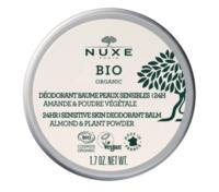 Nuxe Bio Déodorant Baume Fraîcheur 24h Peaux Sensibles Pot/50g à MULHOUSE
