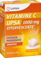 Vitamine C Upsa Effervescente 1000 Mg, Comprimé Effervescent à MULHOUSE