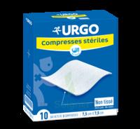 Urgo Compresse Stérile Non Tissée 10x10cm 10 Sachets/2 à MULHOUSE