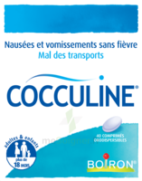 Boiron Cocculine Comprimés orodispersibles B/40 à MULHOUSE