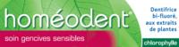 Boiron Homéodent Soin Gencives Sensibles Pâte Dentifrice Chlorophyllet/75ml à MULHOUSE