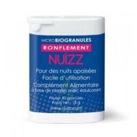 Nuizz Ronflement Granules Microbio Ronflement Obstruction Voies Respiratoires B/60 à MULHOUSE